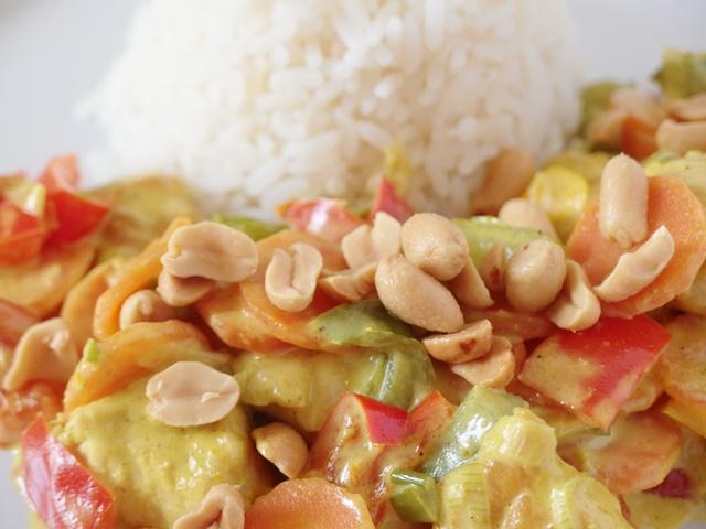 Hähnchen Curry