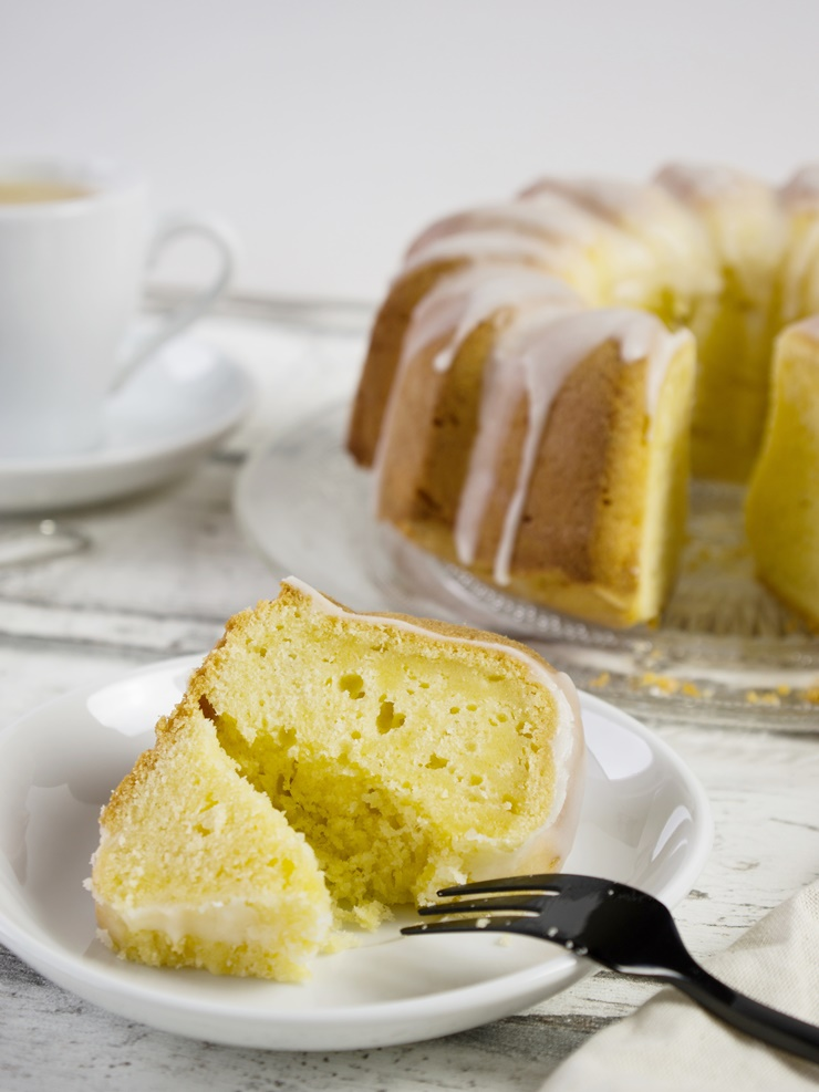 Zitronen-Gugelhupf