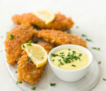 Cornflakes-Schnitzel
